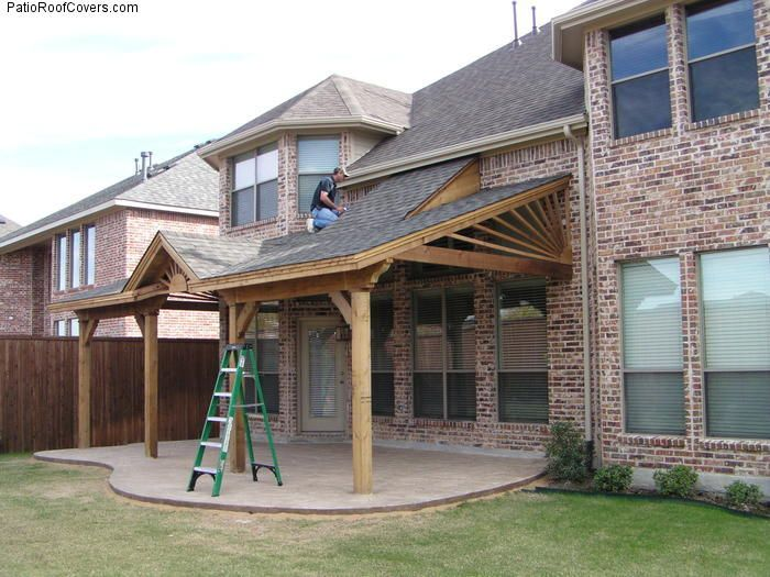 Covered Patio Roof Ideas   PatioRoofCovers.com   Ideas for the House