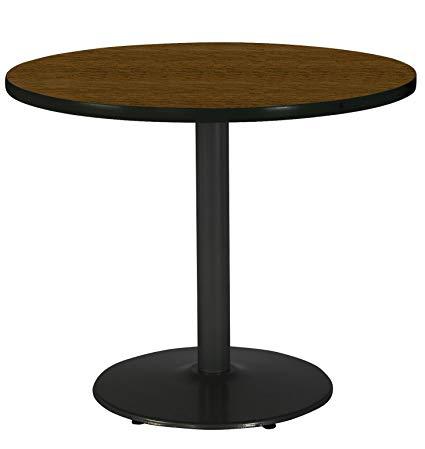 Amazon.com: KFI Seating Round Black Base Pedestal Table with Top