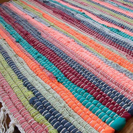 Rag Rugs - Rag Woven Rugs from £10