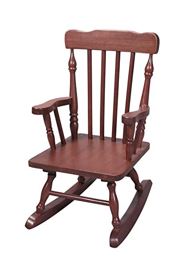 Amazon.com: Gift Mark Child's Colonial Rocking Chair, Cherry