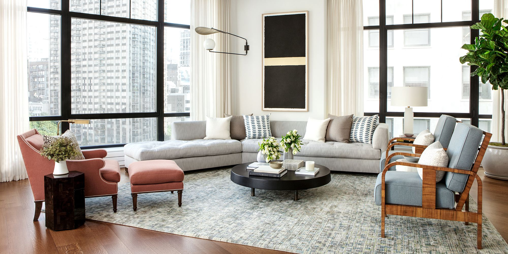 30 Living Room Furniture Layout Ideas - How to Arrange Seating in a