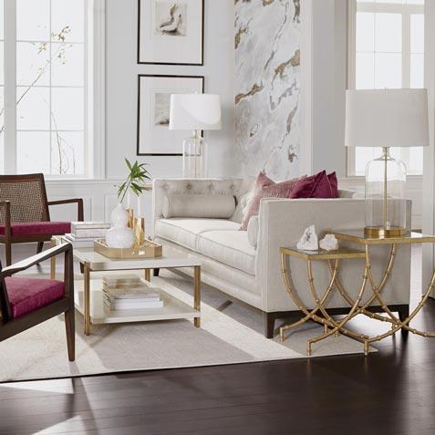Living Room Decorating Ideas   Living Room Inspiration   Ethan Allen