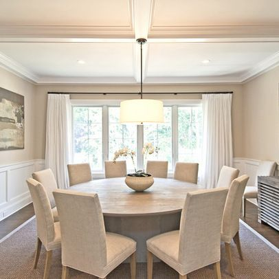 15 Stunning Round Dining Room Tables   HOUSE HUNTING   Dining room