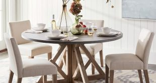Brooks Round Dining Table | Pottery Barn