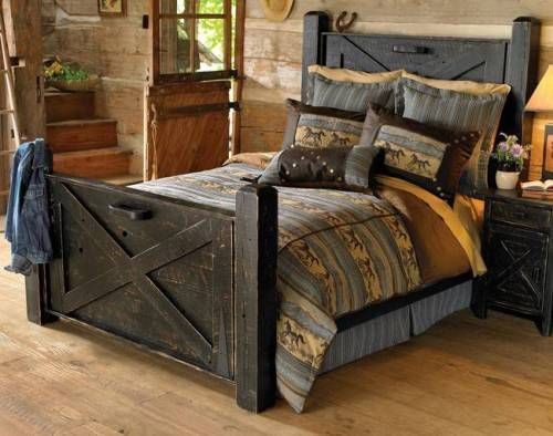 rustic bedroom sets for cheap   home-   headboard ideas   Rustic