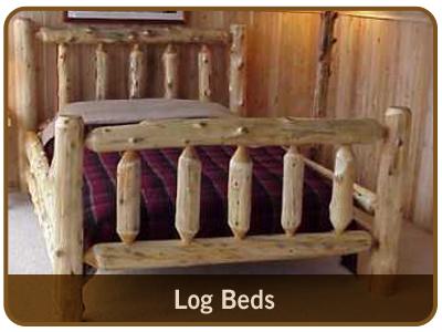 Indoor & Outdoor Rustic Log Furniture from Great Lakes Rustics