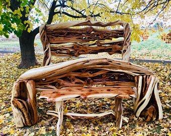 Log furniture | Etsy