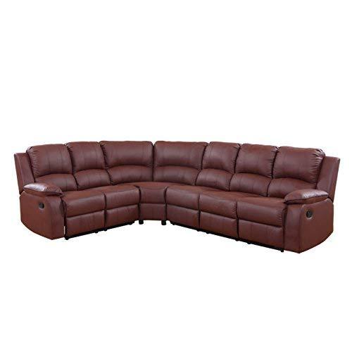 Amazon.com: Divano Roma Furniture Large Classic Sofa - Sectional