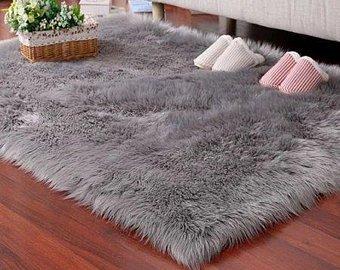 Shaggy rug | Etsy