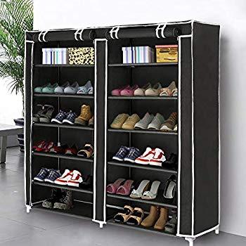 Amazon.com: Blissun Shoe Rack Shoe Storage Organizer Cabinet Tower
