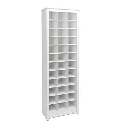 Amazon.com: Prepac WUSR-0009-1 Shoe Storage Cabinet 36 Pair Rack