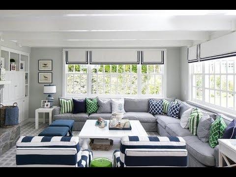 Gray Living Room Room Design Ideas 2019 - YouTube