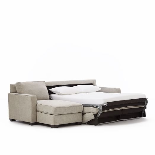 Henry® 2-Piece Pull-Down Full Sleeper Sectional w/ Storage   west elm