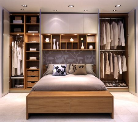 20 Gorgeous Small Bedroom Ideas that Boost Your Freedom   shelves