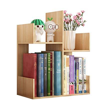 Amazon.com: Bookcases Small Bookshelf Simple Table Storage Rack