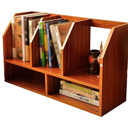 Amazon.com: RSDBNHDL Small Bookshelf Creative Desktop Storage Rack