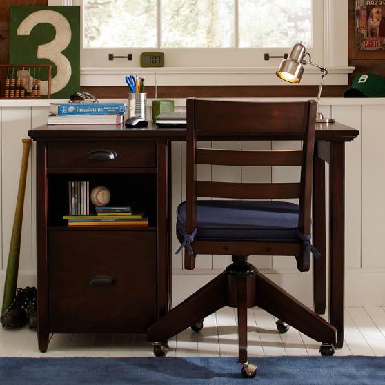 Chatham Small Storage Desk + Hutch | PBteen