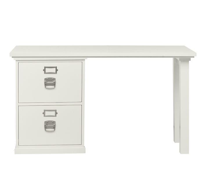 Bedford 2-Drawer Small Desk | Pottery Barn