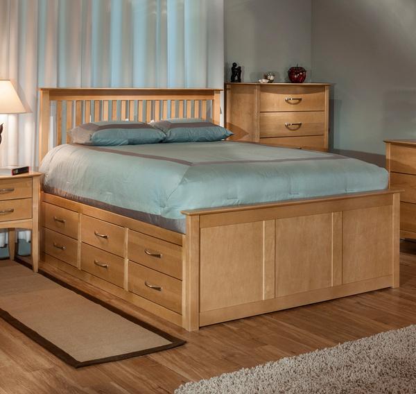 Queen Storage Bed   Cardi's Furniture & Mattresses