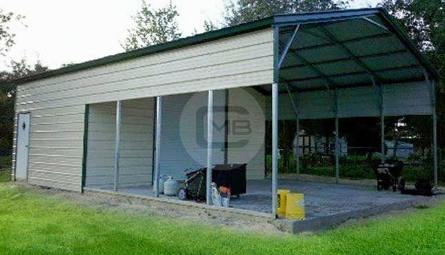Utility Carport - Metal Boat Cover - Steel Storage Shed