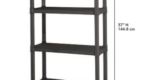 Sterilite® 4-Shelf Storage Unit - Gray : Target