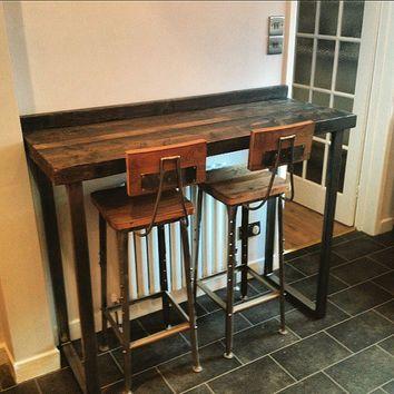 36 in height diy counter bar table - Google Search u2026 | kitchen | Bar tu2026