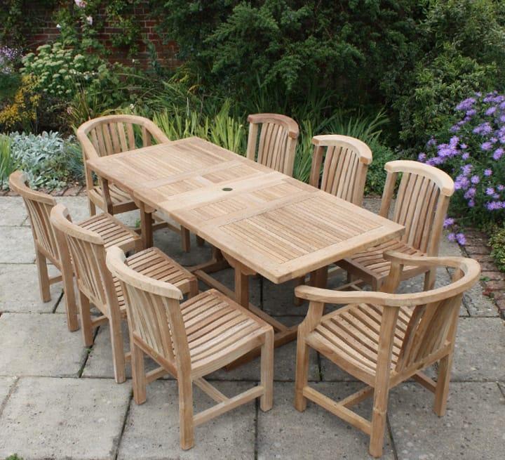 Teak Outdoor Furniture Maintenance Considerations   BellesOfBedlam
