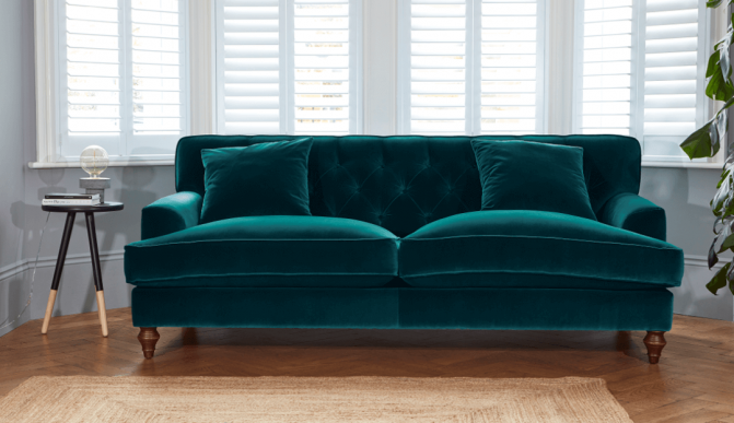 Teal Sofa: The always on-trend colour | Darlings of Chelsea