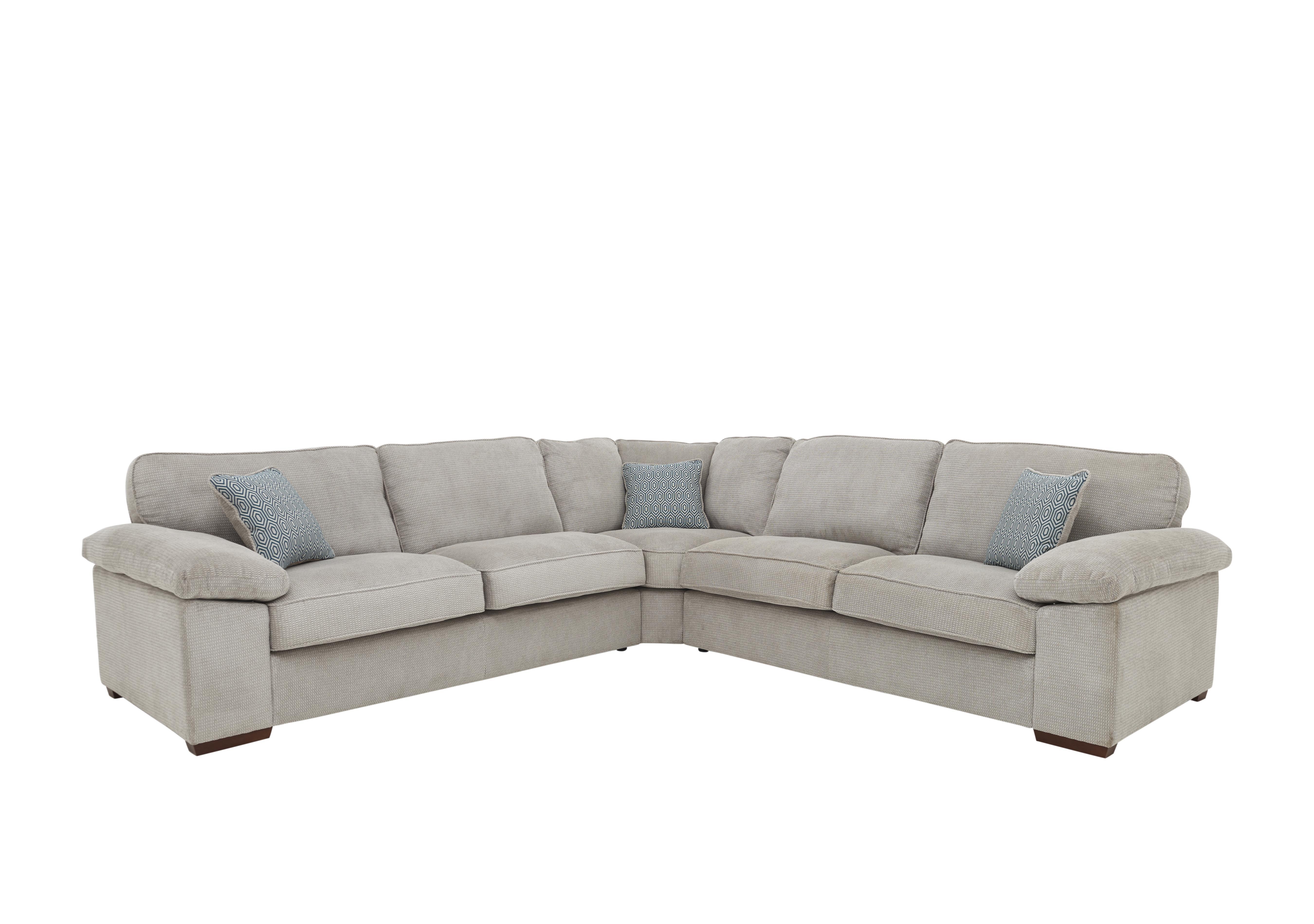Home Large Fabric Corner Sofa - Furniture Village