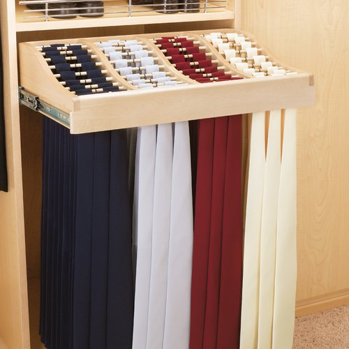 Make Your Dressing Room Unique   With A Tie Rack