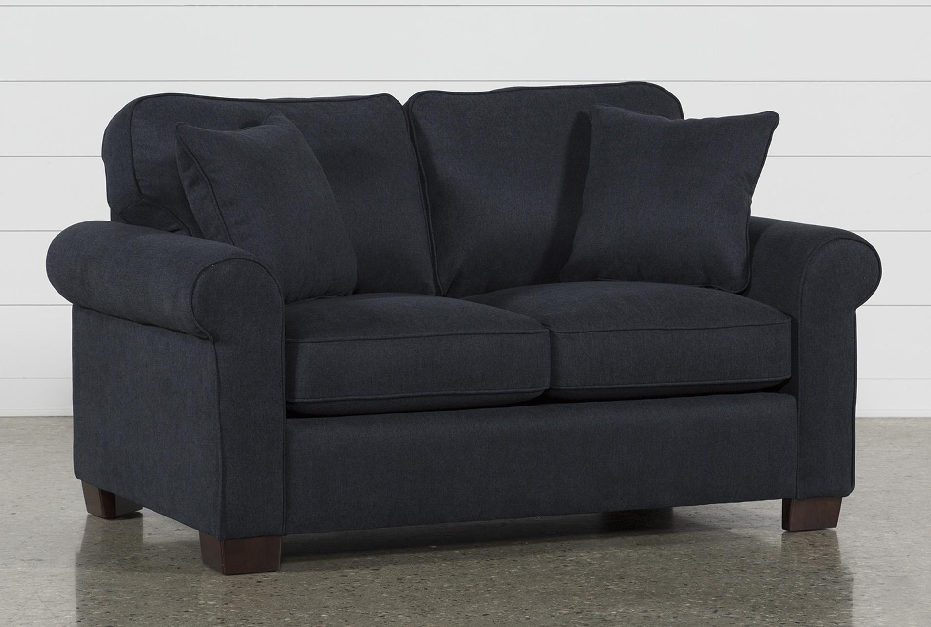 Margot Denim Twin Sofa Sleeper   Living Spaces