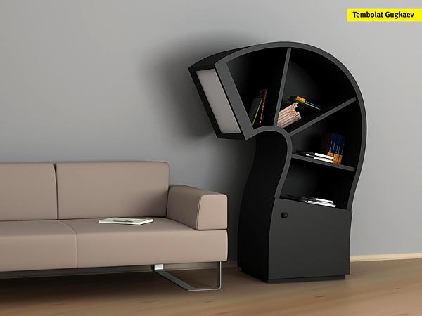 Unusual Furniture by Tembolat Gugkaev   Spicytec