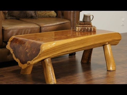 ? Amazing wooden furniture. 50 unusual tables, beds, chairs