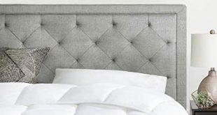 Amazon.com - Brookside Upholstered Headboard with Diamond Tufting