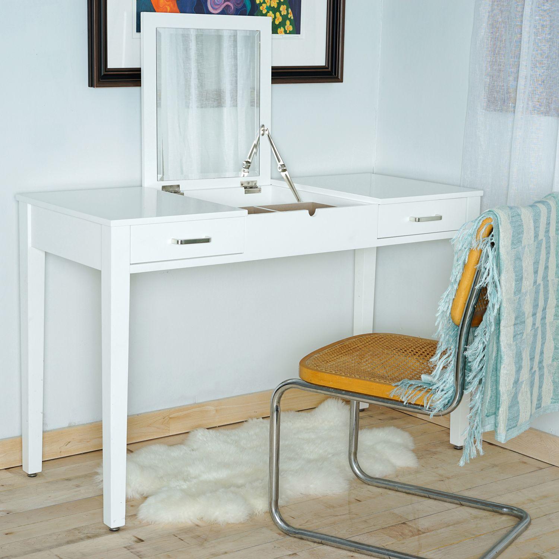 White Vanity Desk | Pier 1