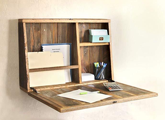 Amazon.com: Drop Down Secretary Desk - Wall Mounted Desk: Handmade