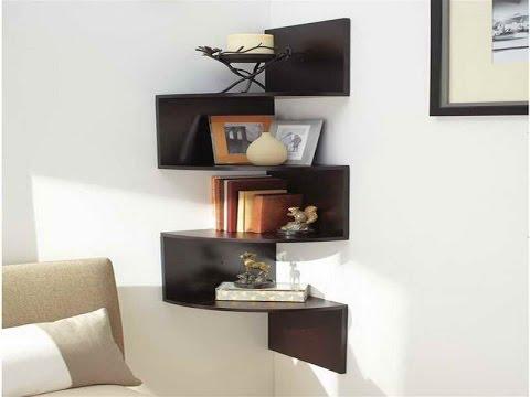 Corner Wall Shelf - Corner Wall Mounted Shelves For Electronics
