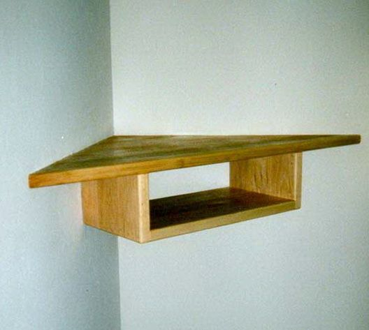 Corner Zig Zag Wall Shelf Diy | Home Design Ideas u2026 | corner shelves