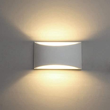 Amazon.com: Modern LED Wall Sconce Lighting Fixture Lamps 7W Warm