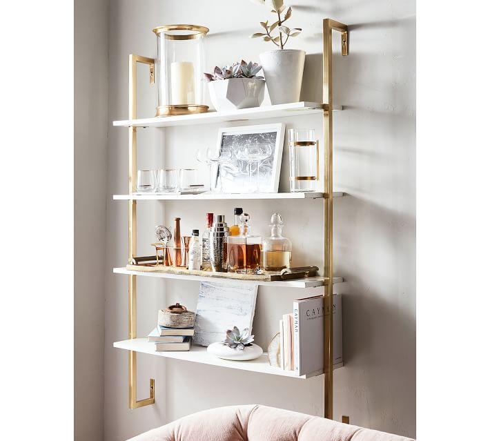 Olivia Wall Mounted Shelves | Pottery Barn