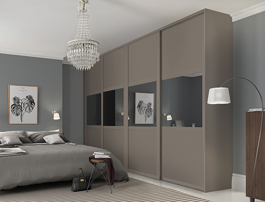 Fitted wardrobe ideas storage colours and styles   Spaceslide