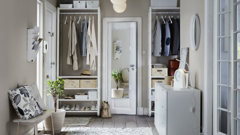 10 walk-in wardrobe and dressing room ideas   Real Homes