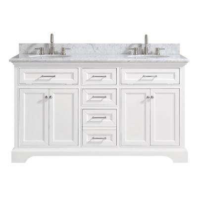 White - Bathroom Vanities - Bath - The Home Depot