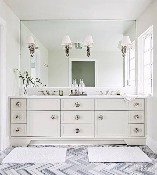 White Bathroom Vanity Designs
