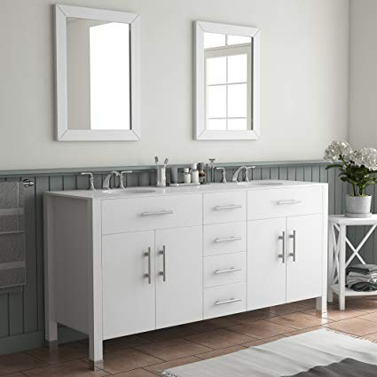 White Bathroom Vanity –   Dimension Of Dignity