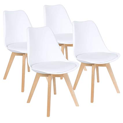 Amazon.com - Furmax Mid Century Modern DSW Dining Chair Upholstered