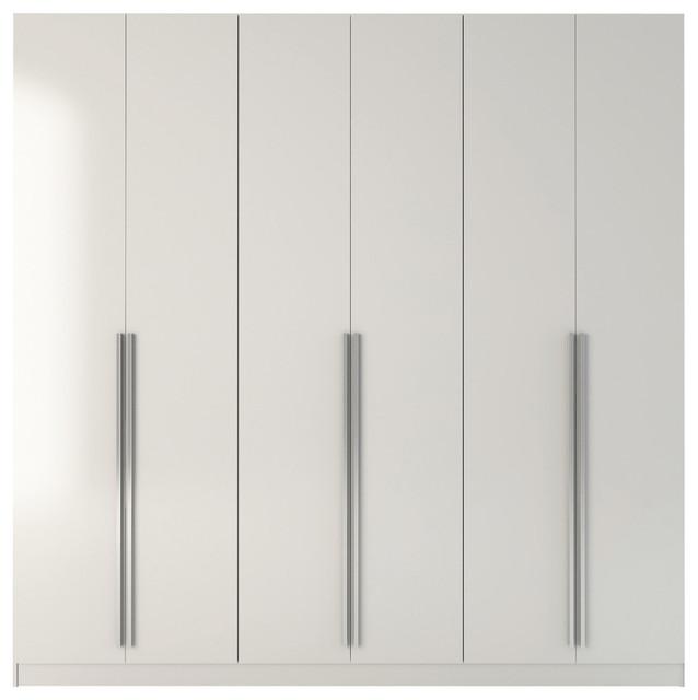 Manhattan Comfort Eldridge 4-Drawer Heshe Freestanding Armoire