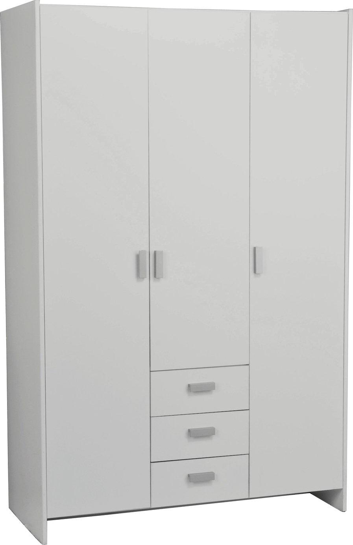 Buy Argos Home New Capella 3 Door 3 Drawer Wardrobe - White