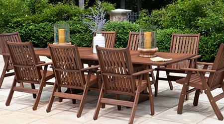 Jensen Leisure® Wood Furniture - Patio Land USA