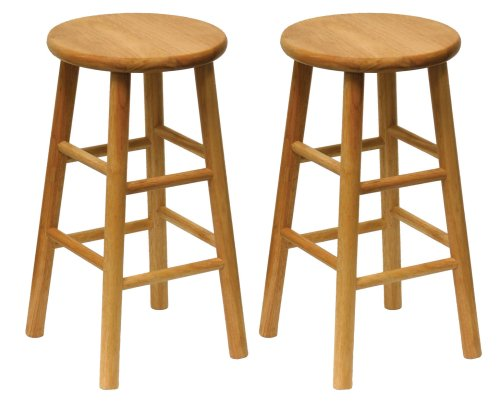 Amazon.com: Winsome 81784 Tabby Stool, Natural: Kitchen & Dining